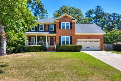 North Augusta Single Family Home For Sale: 309 Bridle Path Road