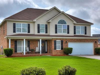 Grovetown Single Family Home For Sale: 6218 Freedom Circle
