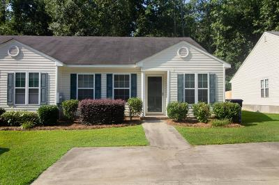 Grovetown Attached For Sale: 4734 W Creek Mill Court