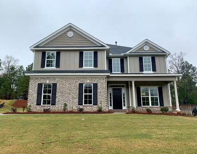 Evans Single Family Home For Sale: 480 Weyanoke Drive
