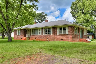 Augusta Single Family Home For Sale: 818 Augusta Street Ext