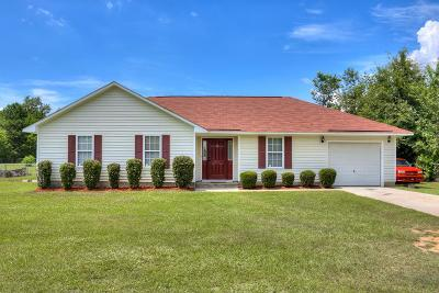 North Augusta Single Family Home For Sale: 1371 Stephens Road