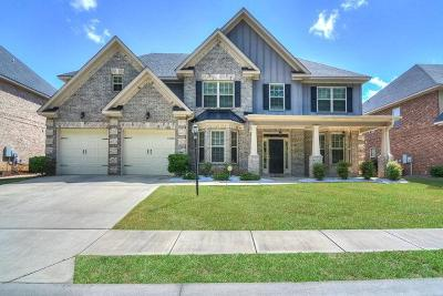 Grovetown Single Family Home For Sale: 323 Bobwhite Trail