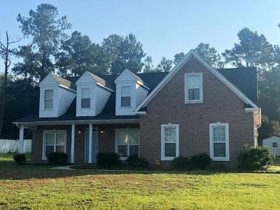 Hephzibah Single Family Home For Sale: 1217 Oakridge Plantation Road