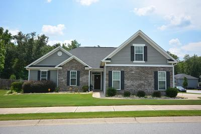 Grovetown Single Family Home For Sale: 2607 Waites Drive
