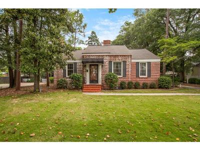Augusta Single Family Home For Sale: 3013 Cardinal Drive