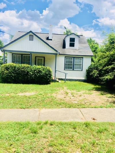 Augusta Single Family Home For Sale: 806 Metcalf Street