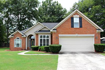 Grovetown Single Family Home For Sale: 617 Gregory Falls Court