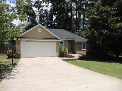 Evans Single Family Home For Sale: 4123 Eagle Nest Drive