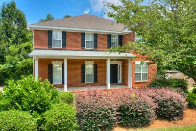 Evans Single Family Home For Sale: 827 Woodberry Drive
