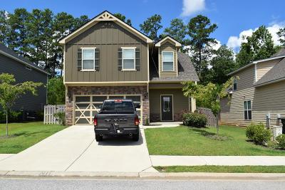 Grovetown Single Family Home For Sale: 3039 Margot Lane