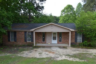 Hephzibah Single Family Home For Sale: 3010 Green Forest Drive