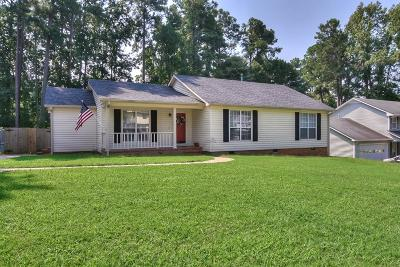 Single Family Home For Sale: 509 Adams Mill Lane