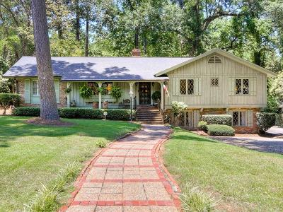 Augusta Single Family Home For Sale: 2713 Wellington Drive