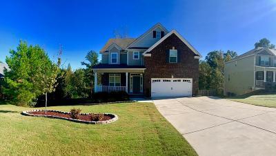 Evans Single Family Home For Sale: 465 Weyanoke Drive