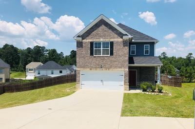 Hephzibah Single Family Home For Sale: 2518 Peach Blossom Pass