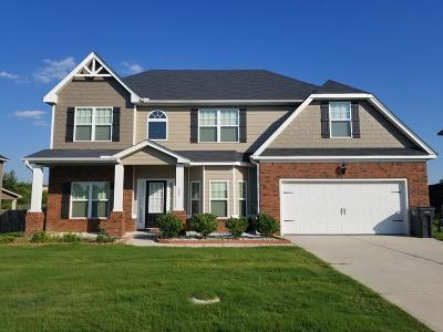 Augusta Single Family Home For Sale: 4090 Harper Franklin Avenue
