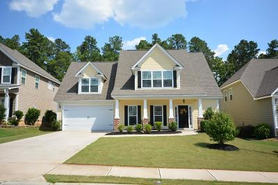 Grovetown Single Family Home For Sale: 721 Herrington Drive