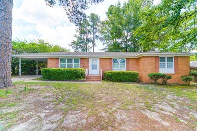 Augusta GA Single Family Home For Sale: $69,900