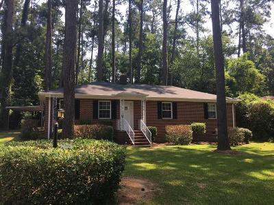Augusta GA Single Family Home For Sale: $160,000