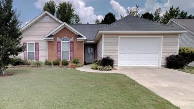 Augusta Single Family Home For Sale: 1013 Ossabaw Court