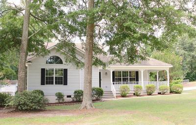 Aiken Single Family Home For Sale: 117 Tall John Lane