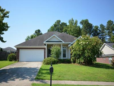 Grovetown Single Family Home For Sale: 2062 Lake Forest Drive