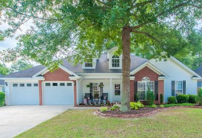 North Augusta Single Family Home For Sale: 1137 Lake Greenwood Drive