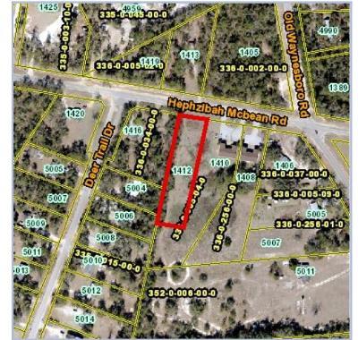 Hephzibah Residential Lots & Land For Sale: 1412 Heph McBean Road