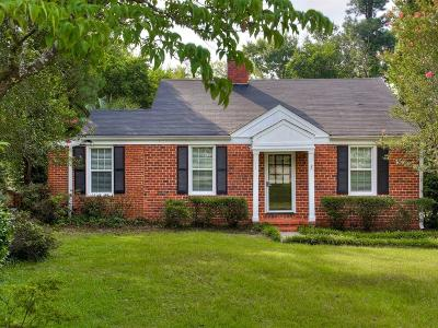 Augusta Single Family Home For Sale: 1744 King Woods Drive