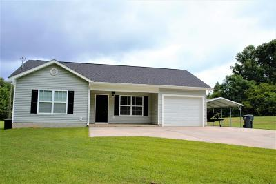 Lincolnton Single Family Home For Sale: 2738 Amity Woodlawn Road