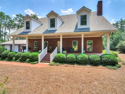 Aiken Single Family Home For Sale: 285 Chime Bell Church Road