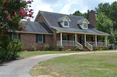 Edgefield County Single Family Home For Sale: 726 Columbia Road