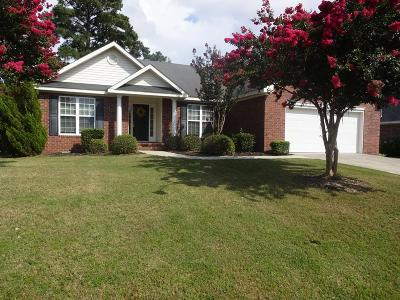 Grovetown Single Family Home For Sale: 3012 Parkridge Drive