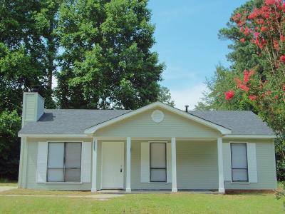 Hephzibah Single Family Home For Sale: 3007 Mistletoe Avenue