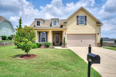 Evans Single Family Home For Sale: 1243 Berkley Hills Pass