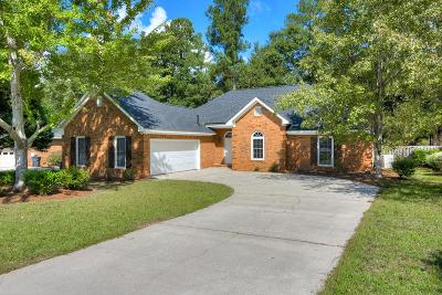 North Augusta Single Family Home For Sale: 484 Calbrieth Circle