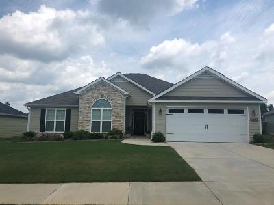 Grovetown Single Family Home For Sale: 211 Carlow Drive