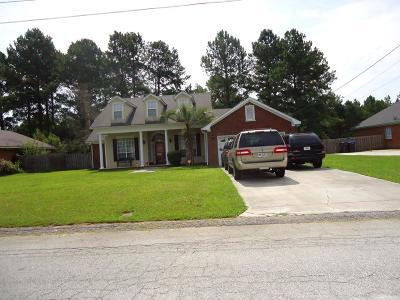 Hephzibah Single Family Home For Sale: 1012 Hunters Glen