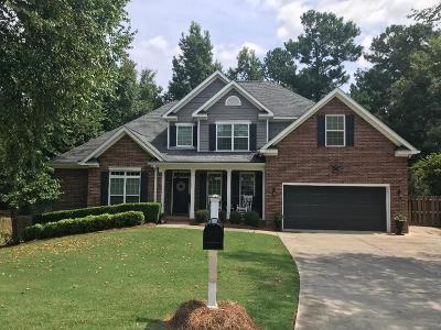 Evans Single Family Home For Sale: 1091 Conn Drive