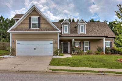 Grovetown Single Family Home For Sale: 3824 Berkshire Way