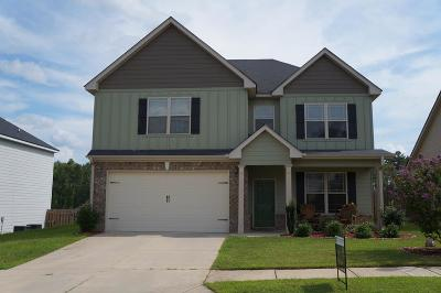Grovetown Single Family Home For Sale: 8768 Crenshaw Drive