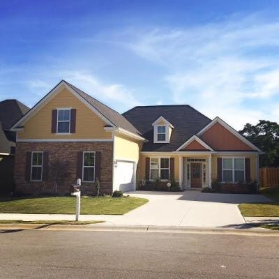 Grovetown Single Family Home For Sale: 706 Mural Lake Court