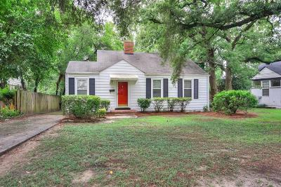Augusta Single Family Home For Sale: 1772 Pinetree Road