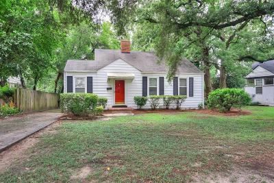 Augusta GA Single Family Home For Sale: $109,900