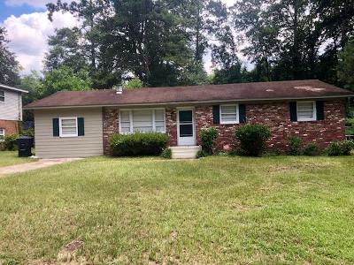 North Augusta Single Family Home For Sale: 2109 Vireo Drive