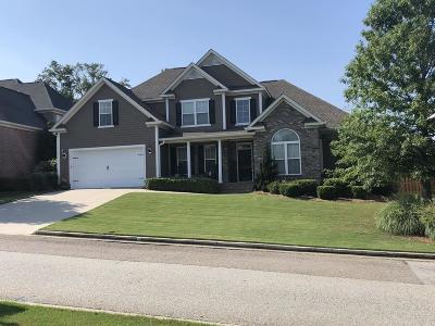 Evans Single Family Home For Sale: 1216 Sumter Landing Lane