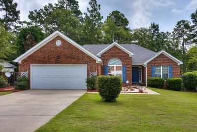 Aiken Single Family Home For Sale: 114 Yarrow Way