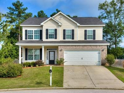 Grovetown Single Family Home For Sale: 255 Crown Heights Way