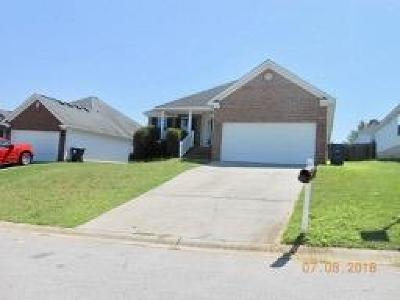Grovetown GA Single Family Home For Sale: $134,000